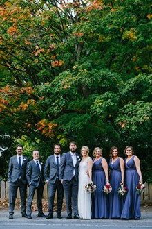 Corey Wright Photographer | DiVino Ristorante | Bridal Party
