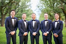 R Weddings | Yarra Valley Wedding | Groomsmen