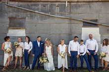 Esh Photography | Real Wedding | Bridal Party