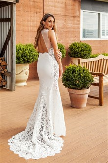 Corston Couture | Wedding Gowns | Backless Dress