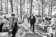Esh Photography | Real Wedding | Garden Ceremony