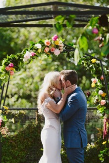 Beck Rocchi Photography | Melbourne Wedding | First Kiss