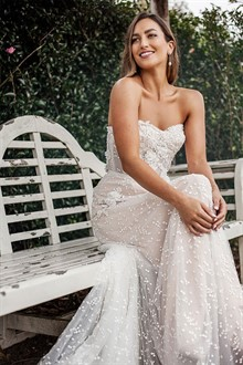 Corston Couture | Wedding Gowns | Strapless Dress