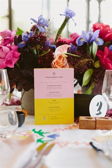 Beck Rocchi Photography | Melbourne Wedding | Table Menu