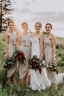 Shutter and Lace | Queensland Wedding | Bridesmaids Dresses | Shona Joy