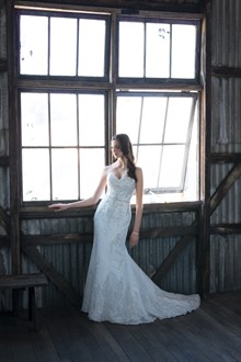 Dress by Christina Rossi available at Jenny & Gerrys Bridal House