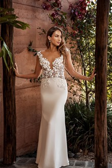 Corston Couture | Wedding Gowns | Illusion Neck Line