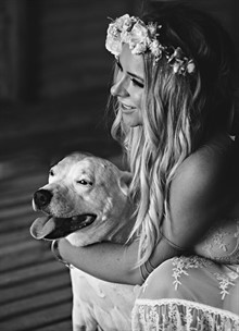 Esh Photography | Real Wedding | Bohemian Romance