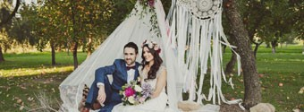 WA Wedding of the Year: Vintage Bohemian
