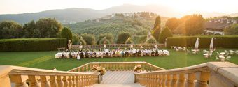 Tuscan Countryside Real Wedding
