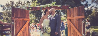 Real Wedding: Romantic & Rustic Wedding