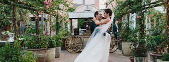 Real Wedding: City Garden Party
