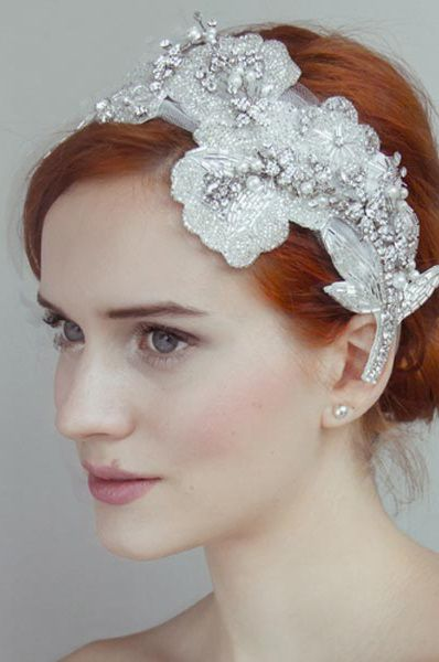 Headpiece by Olivia Headpieces
