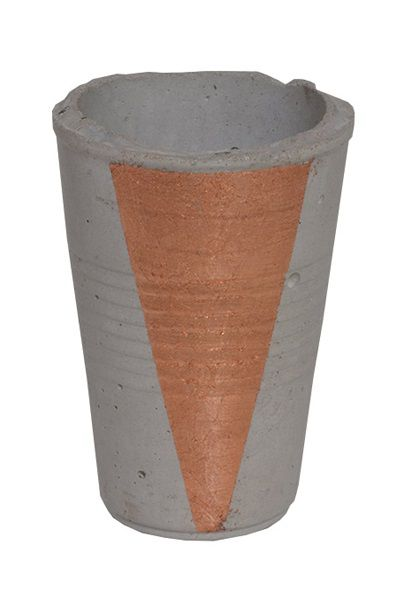Concrete Harden Up Cup, Raw - Copper