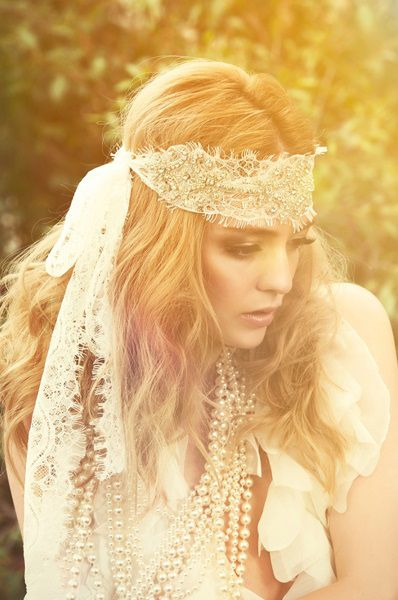 Headpiece by Three Sunbeams