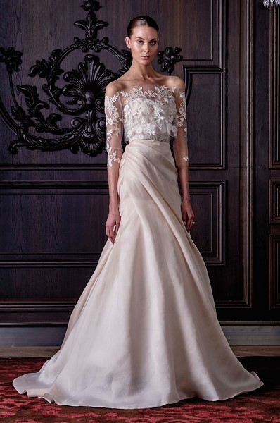 Gown by Monique Lhuillier