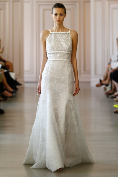 Gown by Oscar de la Renta