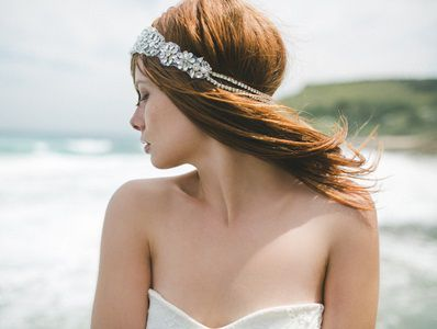 Headpiece by Bride La Boheme