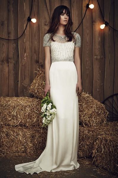 Gown by Jenny Packham