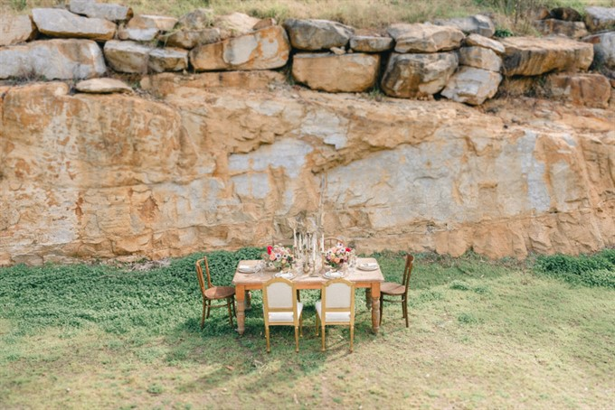 Vintage Patina's Bohemian Glam Styled Shoot - Table