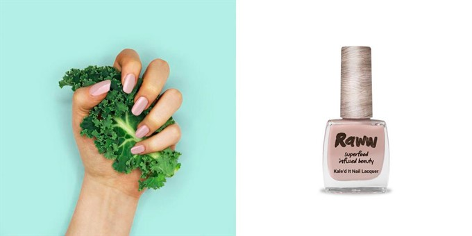 Natural Beauty | Raww Cosmetics | Kale'd It Nail Lacquer