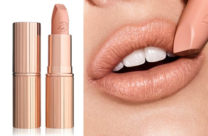 Kate Moss loves Hot Lips in Nude Kate