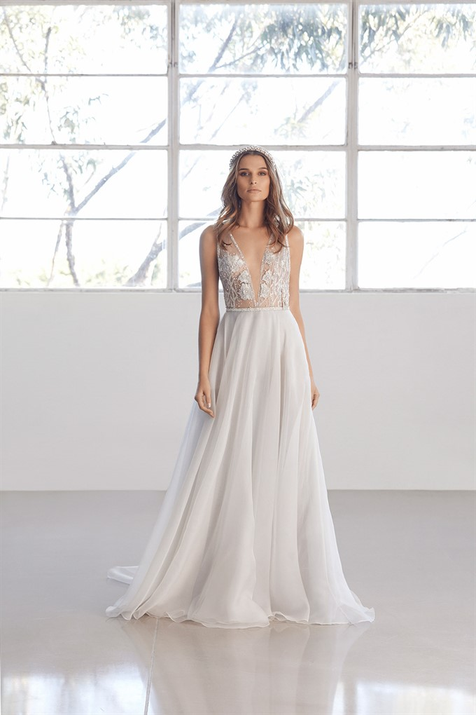 UTOPIA Collection | Suzanne Harward | Couture Wedding Gown | Aurora Gown