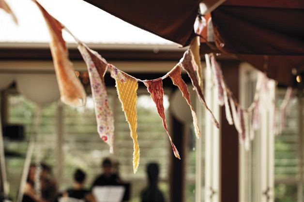2. Craft Some Colourful Bunting