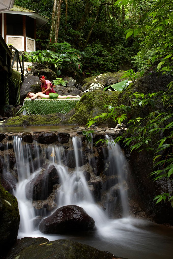 Rejuvenate at the award-winning Rainforest Spa