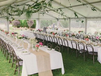 How To Organise A Summer Marquee Wedding