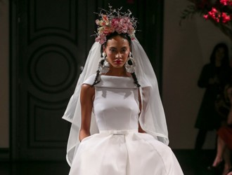 Inspired By Frida Kahlo: Naeem Khan Bridal Autumn 2016