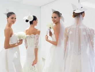 Romance & Femininity: Carolina Herrera 2014 Fall Bridal Collection