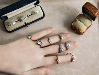 Stylish Antique Engagement Rings