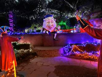 Spark Your Festive Spirit With The Christmas Lights Spectacular At Hunter Valley Gardens