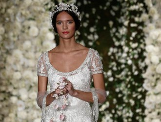 Utterly Romantic: Reem Acra's 2015 Fall Bridal Collection