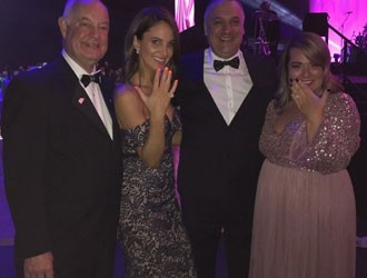 Andrew Mazzone Design Jeweller Donated A Diamond Ring To The Ronald McDonald House Adelaide