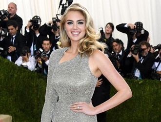 Kate Upton Shows Off Her Huge Engagement Ring At The Met Gala