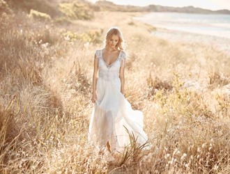 Bridal designer, Anna Campbell, Introduces 3 New Styles In A 'Signature' Collection