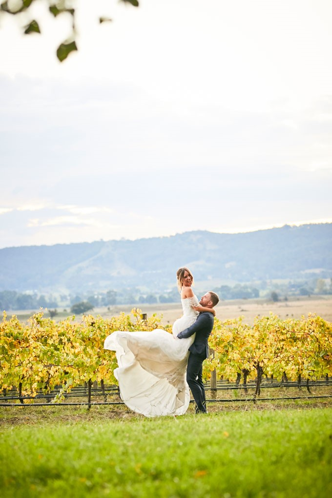 R Weddings | Yarra Valley Wedding | Bride And Groom