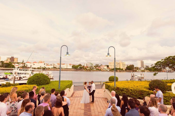 The Landing at Dockside | Waterfront Ceremony