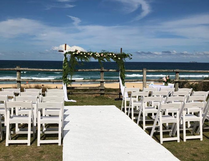 Top Cat Catering at Horizons Beachfront Wedding Venue | Wedding Ceremony