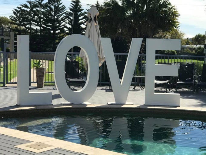 Love Letters CBR | Wedding Styling