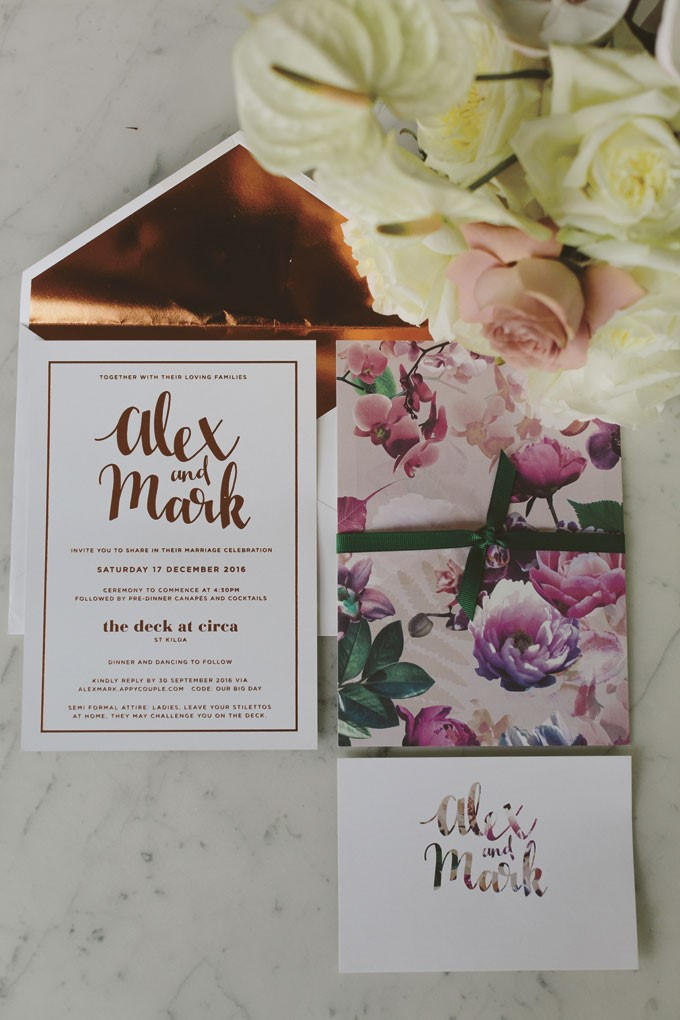 Beck Rocchi Photography | Melbourne Wedding | Wedding Stationery