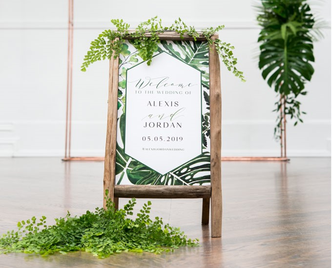 Weddingstar | Welcome Sign
