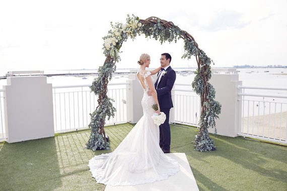 Lost In Love Photography | Floral Arch | Royal Melbourne Yacht Squadron