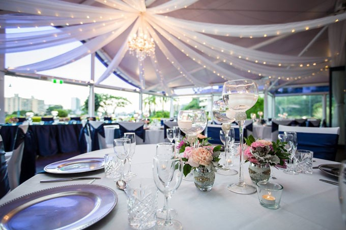The Landing at Dockside | Waterfront Reception