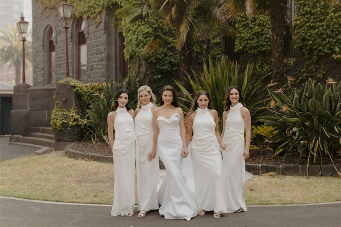 Kristina & Nick's Modern Classic Melbourne Wedding | Real Wedding | Heart and Colour