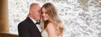 Real Wedding: Crystal & Michael's Timelessly Elegant Wedding