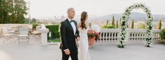 Real Wedding: Sharlene & Craig's Florence Fairytale