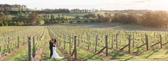 Real Wedding: Kylie & Brad's Rustic Vineyard Wedding